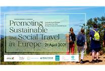 Conferência internacional online 'Promoting Sustainable and Social Travel in Europe'