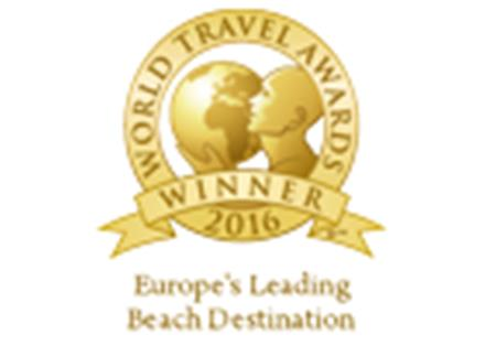 Europe's Leading Beach Destination 2016