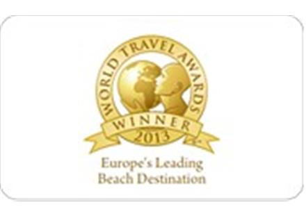 World Travel Awards - Europe's Leading Beach Destination 2013